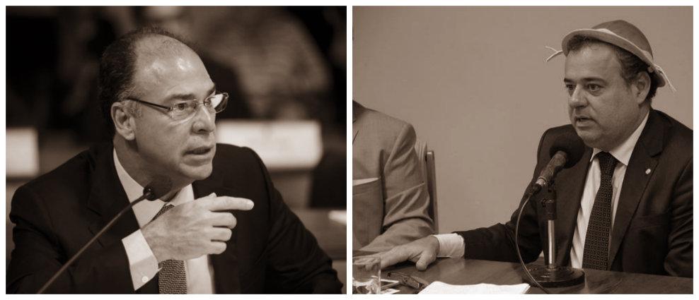 Senador Fernando Bezerra diz: %u201CTodo mundo tem que descer do palanque%u201D. Danilo Cabral acredita que pressão nordestina fez efeito. Fotos: Senado Federal e Câmara Federal/divulgação