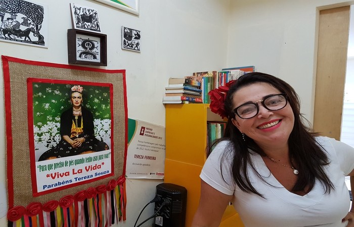 Tereza é fã da pintora mexicana Frida Khalo - Foto: Gshow/Divulgação