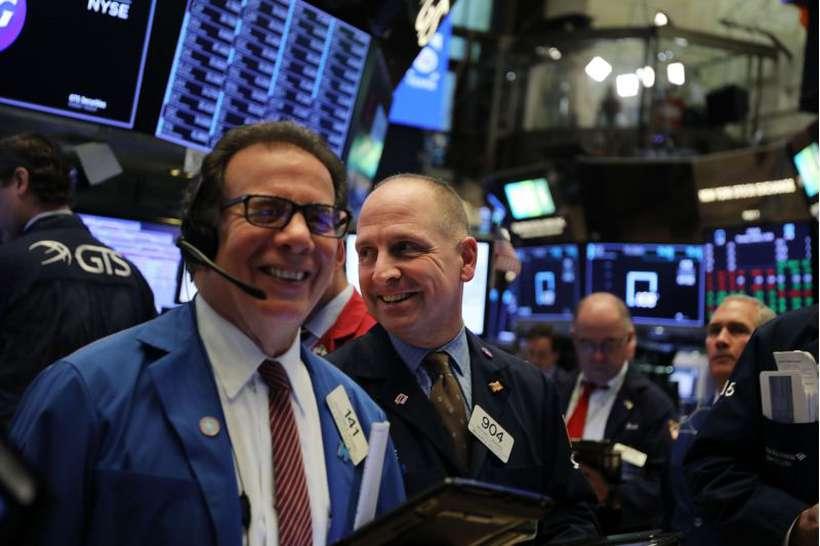 Na Bolsa de Nova York, índices sobem pelo quarto pregão consecutivo com a indicação do Fed. Foto: Spencer Platt/Getty Images/AFP