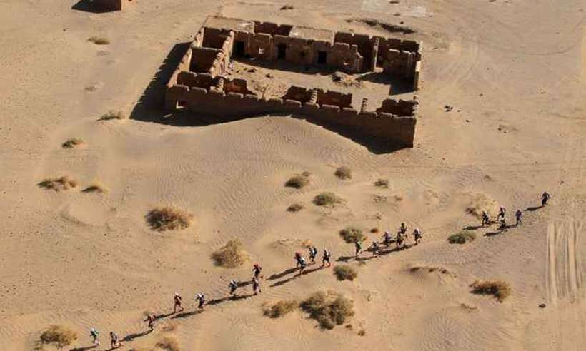 O clima desértico marca Ouarzazate, no Marrocos. Foto: AFP Photo/ Pierre Verdy