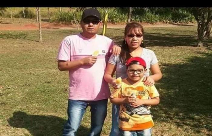 Família de bolivianos. Foto: Polícia Civil/ Divulgação