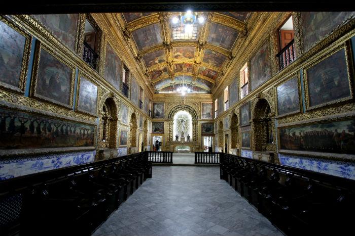 Nesta quarta-feira (16), a caminhada visitará algumas igrejas do centro da cidade. Foto: Maurício Ferry/Divulgação.
