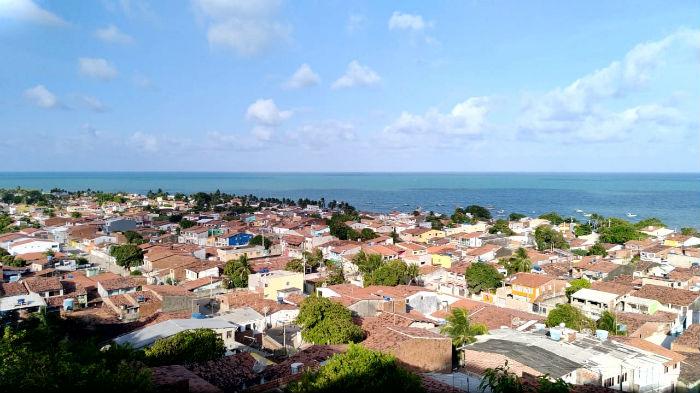 No período de alta temporada, a população do distrito aumenta de 13 mil para cerca de 20 mil pessoas. Foto: Laura Melo/Compesa/Divulgação.