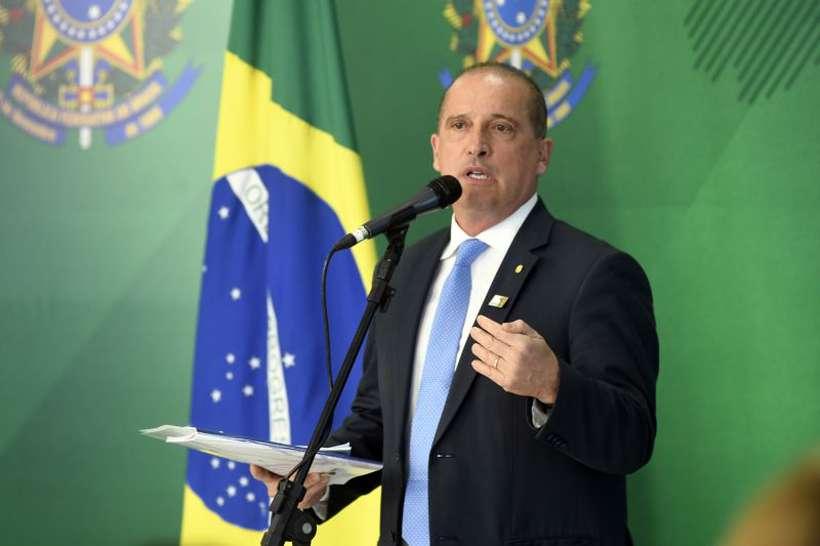 O ministro da Casa Civil, Onyx Lorenzoni. Foto: Ed Alves/CB/D.A Press