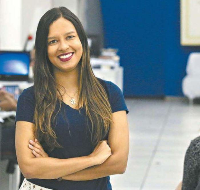 Alice de Souza está em 24º lugar em um ranking com 600 jornalistas de todo o país (Foto: Gabriel Melo / Especial DP)