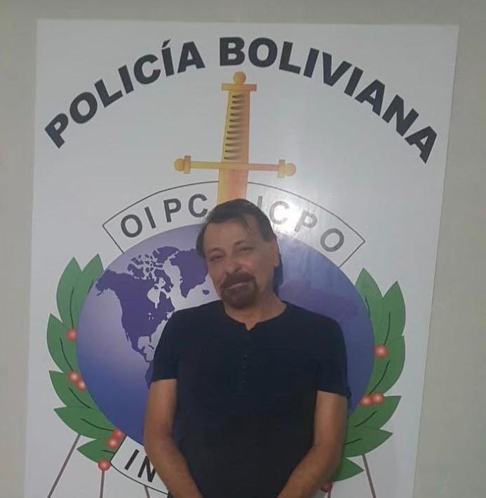 Crédito: Polícia Boliviana/Twitter (Crédito: Polícia Boliviana/Twitter)