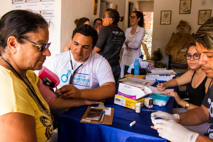Projeto Saúde nos Terreiros chega à Cidade Tabajara. Foto: Divulgação Prefeitura de Olinda
