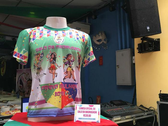 8f8d2f2b17 Parte da renda obtida com a venda da camisa será destinada à Apaf. Foto