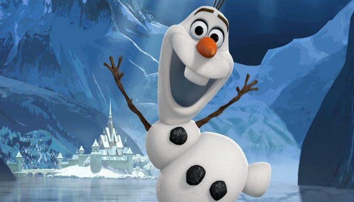 O personagem Olaf, do filme Frozen. Foto: Reprodução/Disney