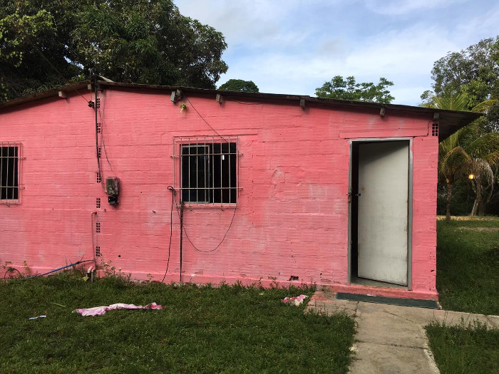 Casa onde as mulheres ficavam trancadas. Foto: Divulgação Polícia Civil.