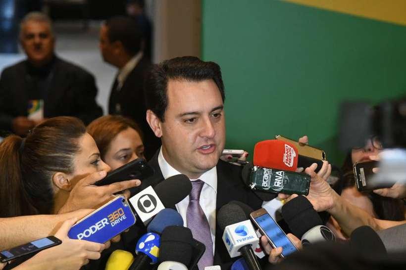 Mauro Mendes esteve com Paulo Guedes para tentar receber recursos represados do Fex de 2018. Foto: Ed Alves/CB/D.A Press