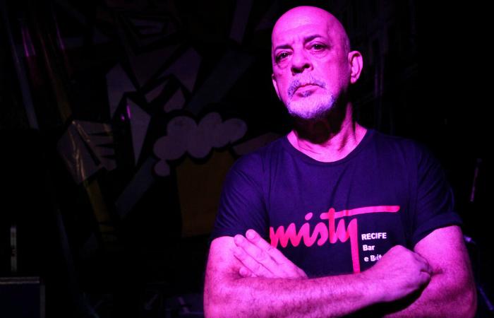 DJ Tom Azevedo, responsável por comandar o som da Misty, trouxe ao Recife o que havia de mais moderno no mundo da música. Foto: Bruna Costa/Esp. DP