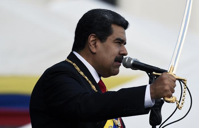 Segundo o líder chavista, seu governo é composto por gente com quem se pode falar e negociar.  Foto: Federico Parra / AFP