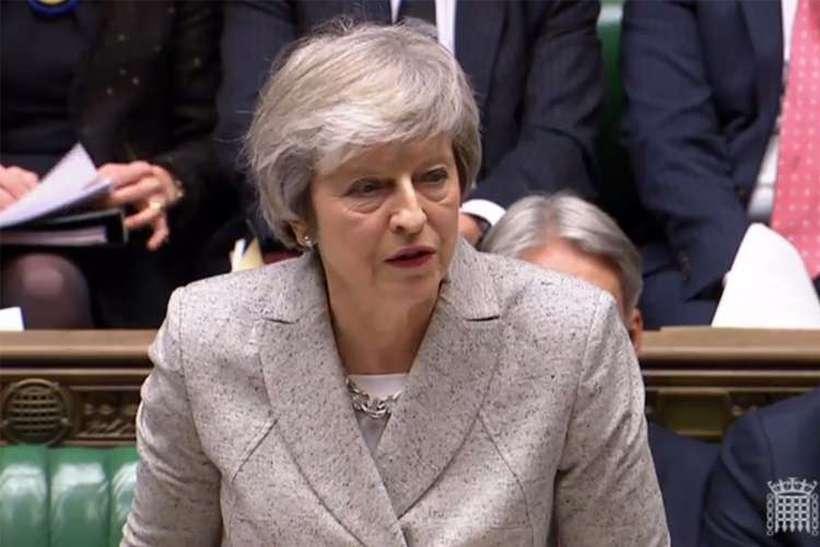 As negociações ocorrem logo depois de o Parlamento reprovar a primeira proposta para o Brexit, provocando uma derrota histórica a May. Foto: Pru / AFP