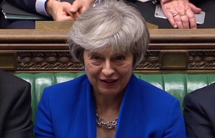 Primeira ministra britância, Theresa May - Foto: HO / PRU / AFP