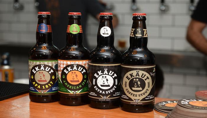 Festival vai contar com um vasto catálogo de bebidas de 23 cervejarias, entre elas cervejas Ekaut. Foto: Divulgação