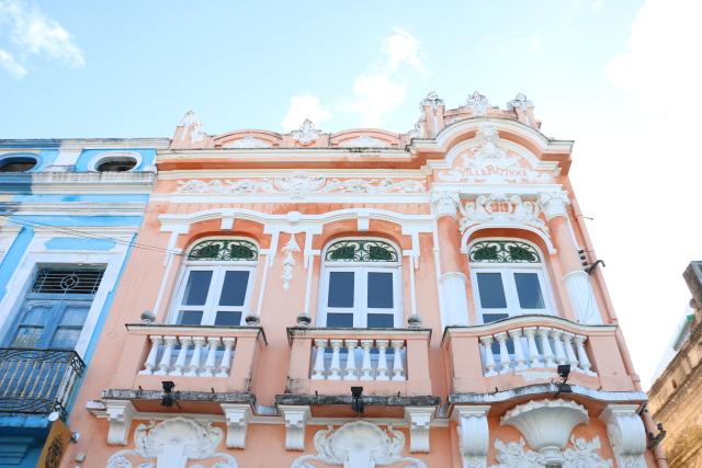 Centro cultural fica em casarão restaurado da Boa Vista. Foto: Gabriel Melo/Esp.DP.