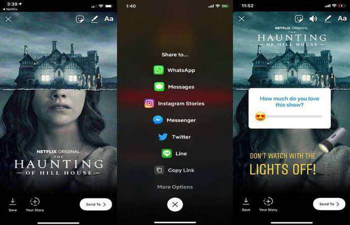 A novidade faz parte de uma estratégia da plataforma de streaming de vídeo para ajudar usuários a conhecerem mais seus conteúdos e aumentar a integração social. Foto: Netflix/Divulgação