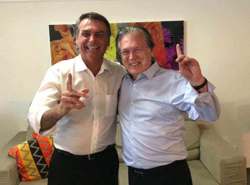 Foto divulgação: assessoria de Bolsonaro