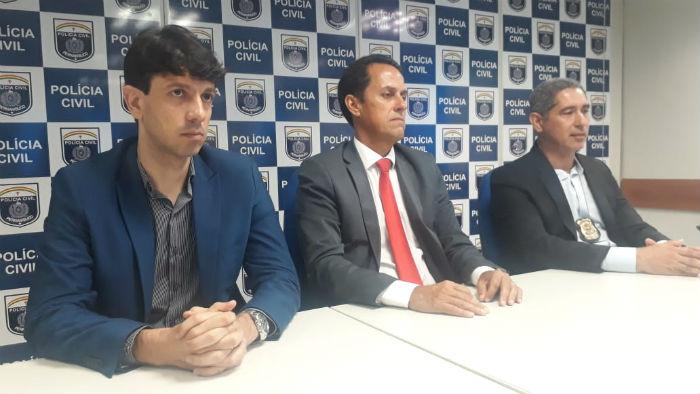 Equipe da Polícia Civil disse que ainda há cinco foragidos. Foto: Polícia Civil/divulgação