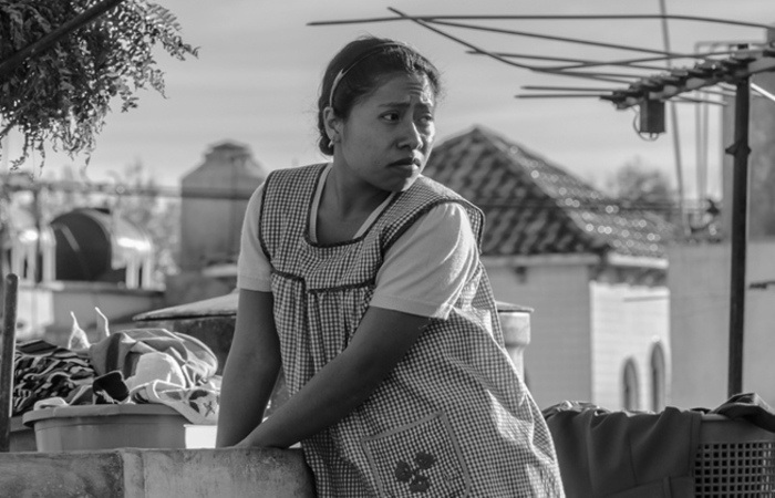 Produzido pela Netflix, o longa metragem 'Roma', do diretor mexicano Alfonso Cuarón, recebeu 10 indicações ao Oscar. Foto: Netflix/Divulgação
