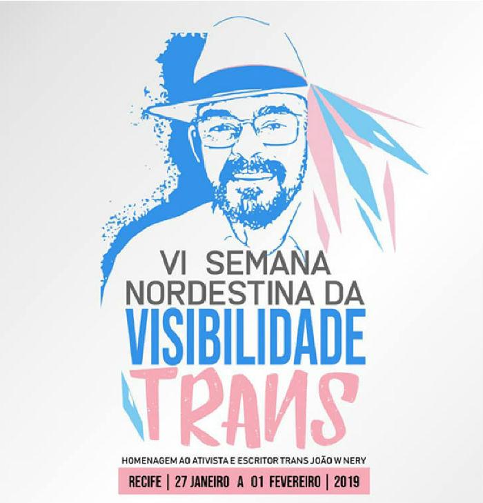Arte Semana Visibilidade Trans. Arte: Divulgação