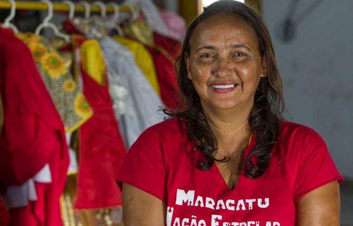 Vilma Carijós, esposa de Meia-Noite e atual presidente da instituição. Foto: Celia Santos/Divulgação