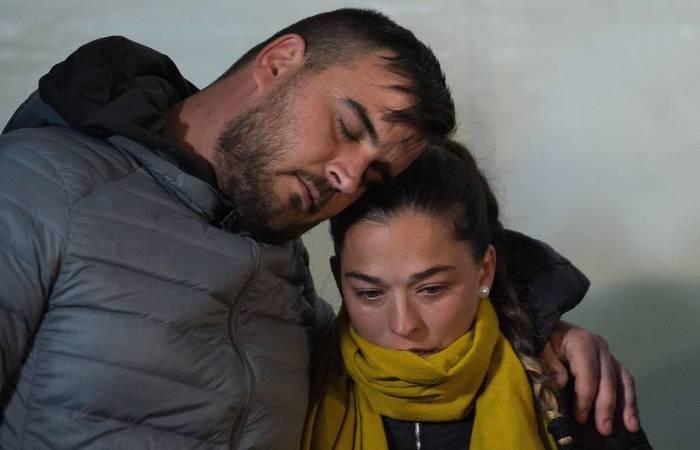 Jose e Victoria, pais de Julen - Foto:  Jorge Guerreiro/AFP