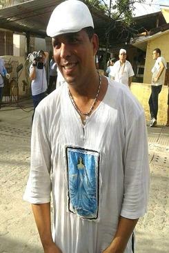 Nilo Oliveira, presidente do Maracambuco. Foto: WhatsApp/Cortesia