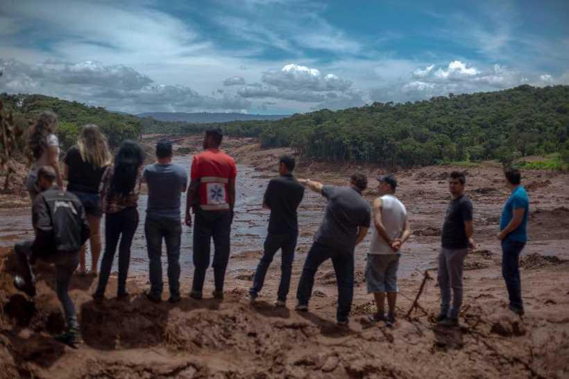 O valor, segundo a procuradora-chefe do MPT em Minas Gerais, Adriana Augusta Souza, é o mesmo acordado com as famílias dos trabalhadores mortos no desastre de Mariana, há três anos. Foto: Mauro Pimentel/AFP