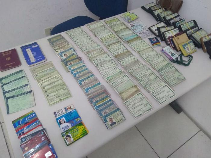 Documentos perdidos na folia de Olinda. Crédito: Divulgação/Prefeitura de Olinda