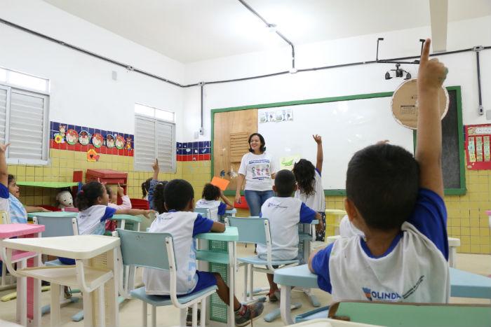 Matrículas na rede de ensino de Olinda vão até quinta (31). Foto: Divulgação.