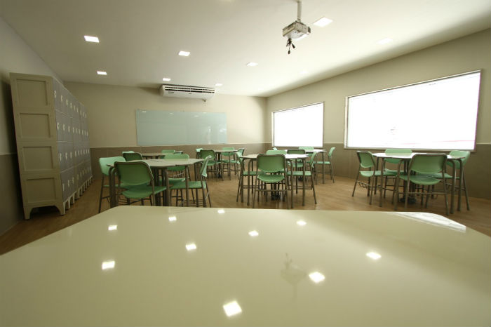 Salas de aula favorecem metodologias ativas. Foto: Peu Ricardo/DP.