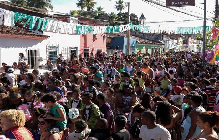 A primeira edição do evento arrasou mais de 7 mil foliões. Foto: WhatsApp/Cortesia