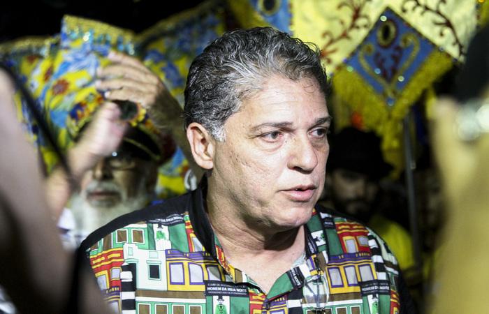 Luiz Adolpho, presidente do Homem da Meia-Noite. Foto: Bruna Costa/Esp DP FOTO