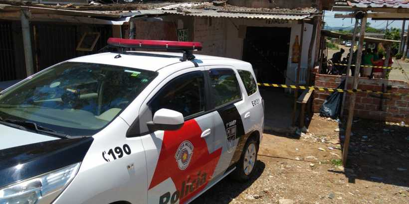 Local onde o corpo da transexual Kelly foi encontrado no Jardim Marisa, em Campinas (SP). Foto: Polícia Militar/Divulgação