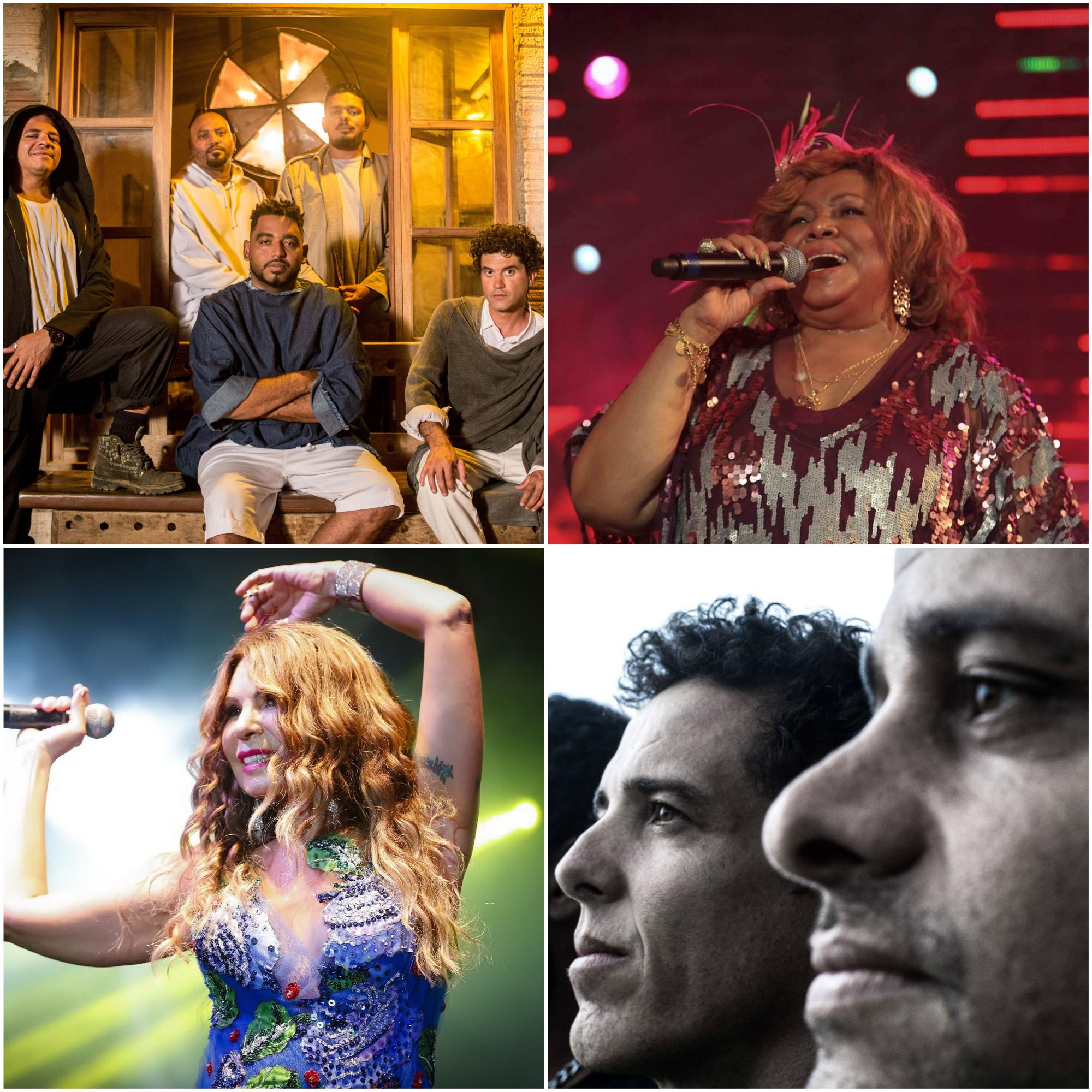 Fotos: Tiago Calazabs/Divulgação; Divulgação do artista; Jorge Luiz/Prefeitura do Recife; Andrea Rego Barros/Divulgacao (Foto: Divulgação)