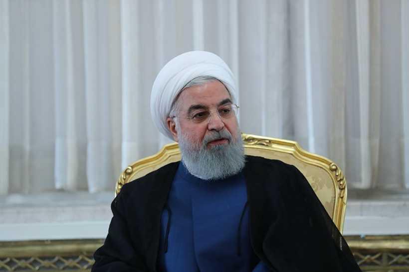 Rohani, conservador moderado estimulou o acordo sobre o programa nuclear iraniano, assinado em 2015 entre Teerã e as grandes potências como China, Estados Unidos, Rússia, França, Grã-Bretanha e Alemanha. Foto: Iranian Presidency / AFP