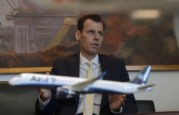 O secretário Nacional de Aviação Civil (SAC), Ronei Saggioro Glanzmann, durante reunião sobre estratégias da aviação. Foto: Tânia Rêgo/Agência Brasil