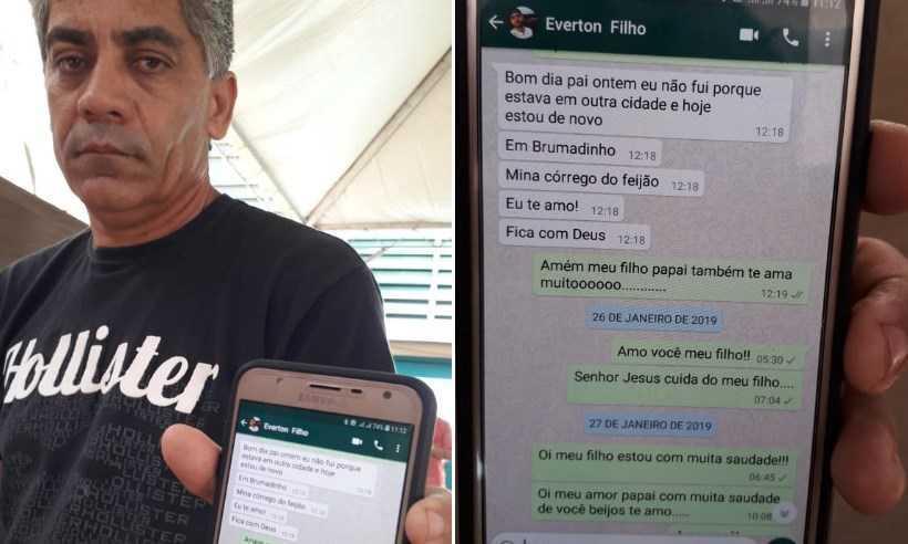 Paulo Aniceto Gomes vai à Estação do Conhecimento todos os dias, desde a catástrofe, em busca de notícias. Foto: Jair Amaral/EM/DA Press