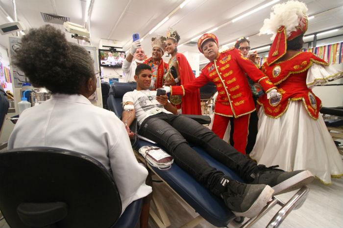 Bloco lírico O Bonde vai cantar para os doadores de sangue. Foto: Peu Ricardo/DP.