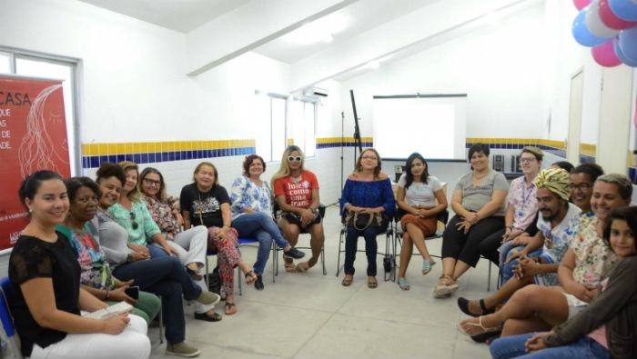 O encontro contou com representantes da Amotrans e do Ser Coletivo. Foto: Lu Streithorst/PCR/Divulgação.