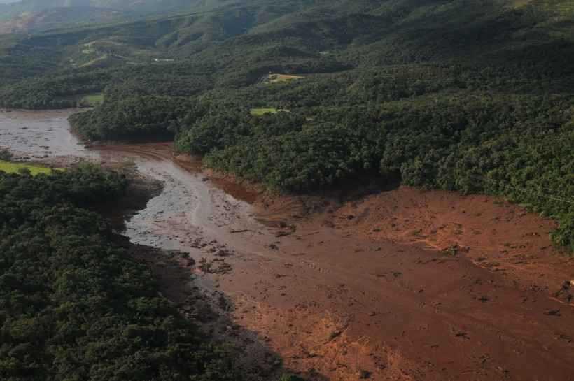 A constatação foi documentada em um plano de emergência da barragem de 18 de abril do ano passado. Foto: Tulio Santos/EM