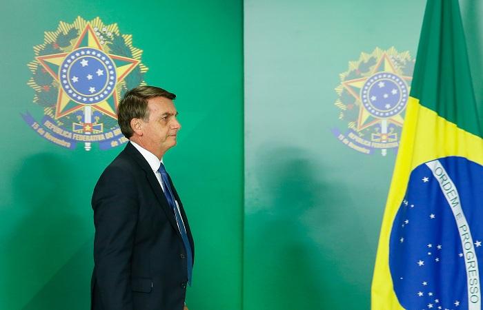 Na Câmara dos Deputados, a base oficial de Jair Bolsonaro representa 22% das cadeiras, enquanto no Senado não passa de 8%. Foto: Isac Nóbrega/PR/Fotos Públicas