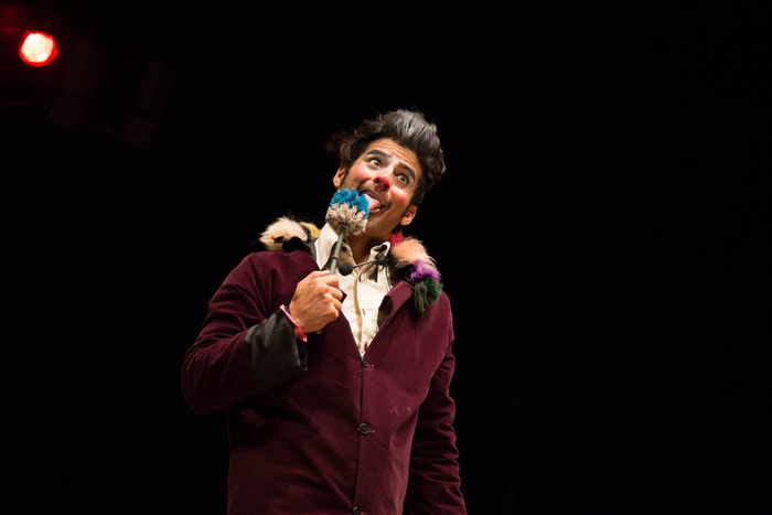 Inka Clown Show da Cia. Circo Rebote. Foto: JGE/Divulgação