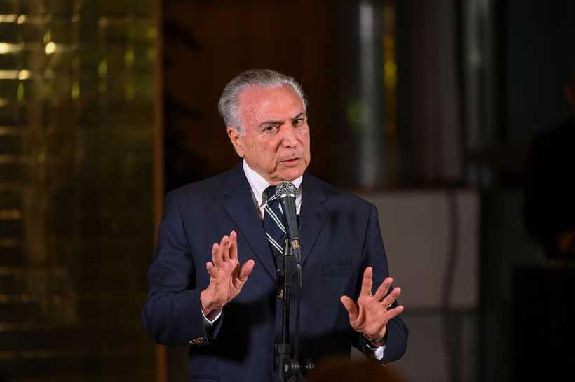 As acusações seguiram para a primeira instância porque Temer perdeu foro privilegiado após deixar o Palácio do Planalto. Foto: Evaristo Sa/AFP