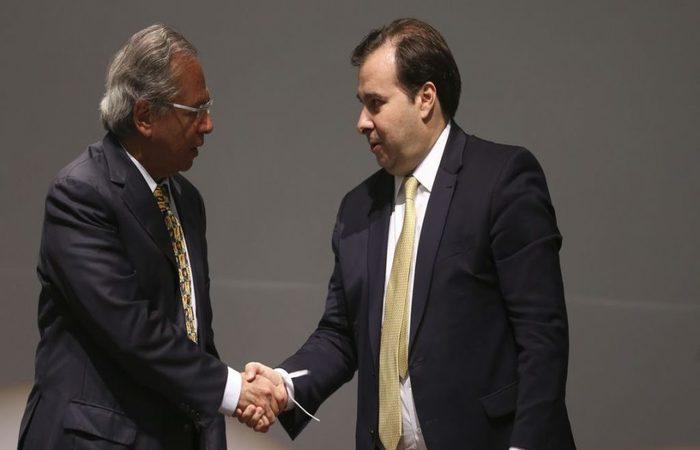 Resultado de imagem para Guedes e Maia reúnem-se hoje à tarde no Ministério da Economia