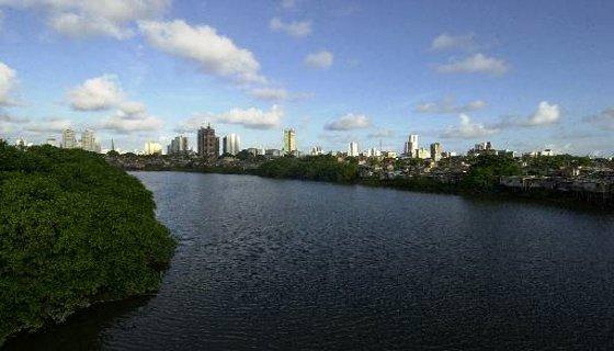 Rio Capibaribe. Foto: Gil Vicente DP/D.A.Press