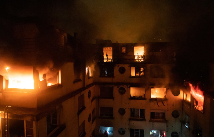Foto: Benoît Moser/BSPP - Brigade de sapeurs-pompiers de Paris/ AFP
