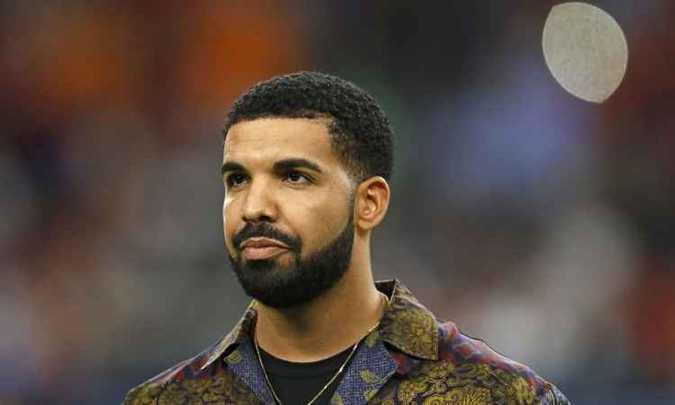 Rapper Drake virá ao Brasil pela primeira vez. Foto: AFP / Aaron M. Sprecher